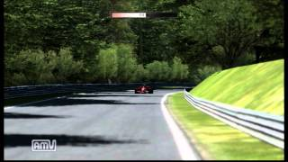 TEST DRIVE Ferrari Racing Legends F2008 (2008) Nürburgring Nordschleife G25