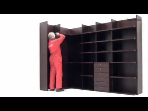 Cómo montar un armario - vestidor abierto