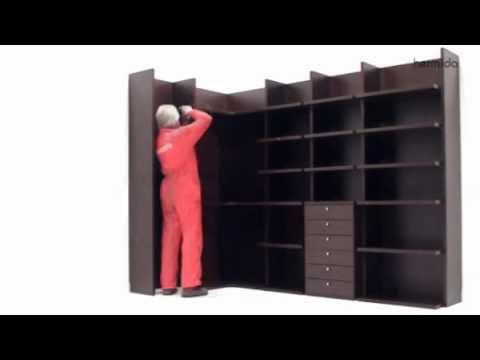 C mo montar un armario vestidor abierto - Como disenar un armario ...