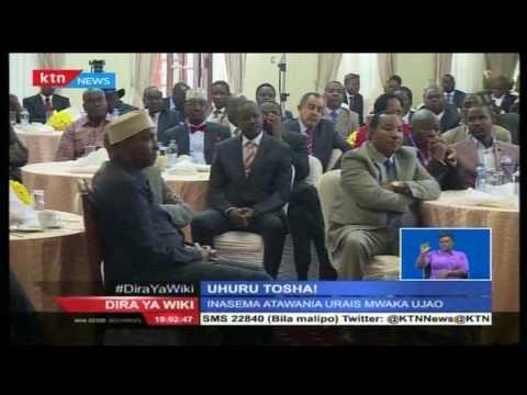 Rais Uhuru Kenyatta atagombea Urais katika chama cha Jubilee