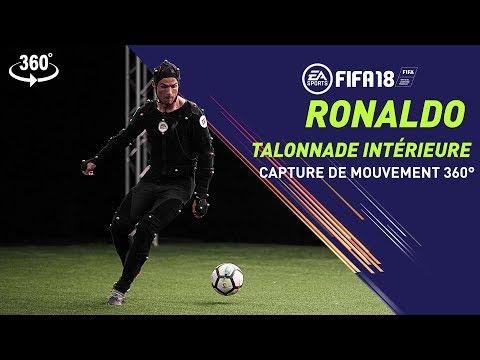 Vidéo 360° Heel Chop (Talonnade intérieure) Ronaldo  de FIFA 18