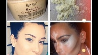 Review: Ben Nye Banana Powder! Concealing & Brightening in 1 step! - YouTube