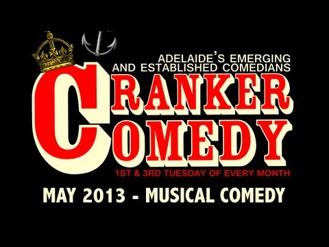 Cranker Comedy Showcase 21st May