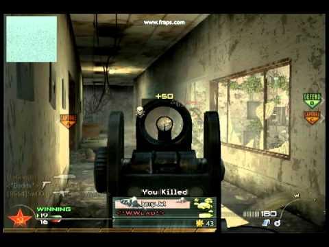 Call of Duty Modern Warfare2- moje fragmovie