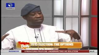 Dele Alake Explains Why Buhari Will Boycott Debate  2