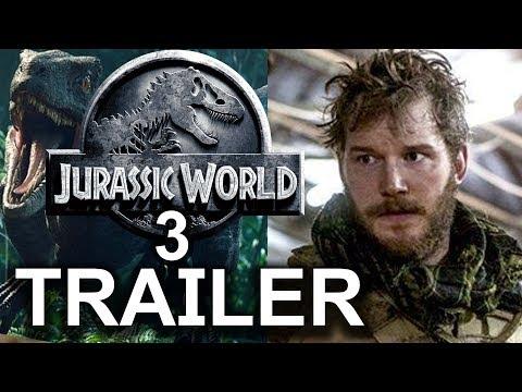 Jurassic World 3: Dominion Teaser Trailer   Bryce Dallas Howard   Chris Pratt Fan Made