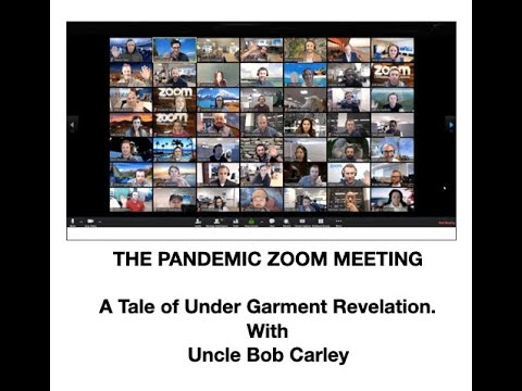 The Pandemic Zoom Meeting with Uncle Bob видео