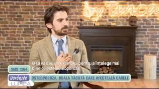 İnterviu pentru Vorbeşte lumea PRO TV despre osteoporoza