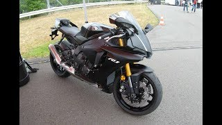 7. YAMAHA YZF R1 ! NEW MODEL 2017 RN32 ! SUPERBIKE ! MATTE BLACK COLOUR ! WALKAROUND ! SPECIAL EDITION