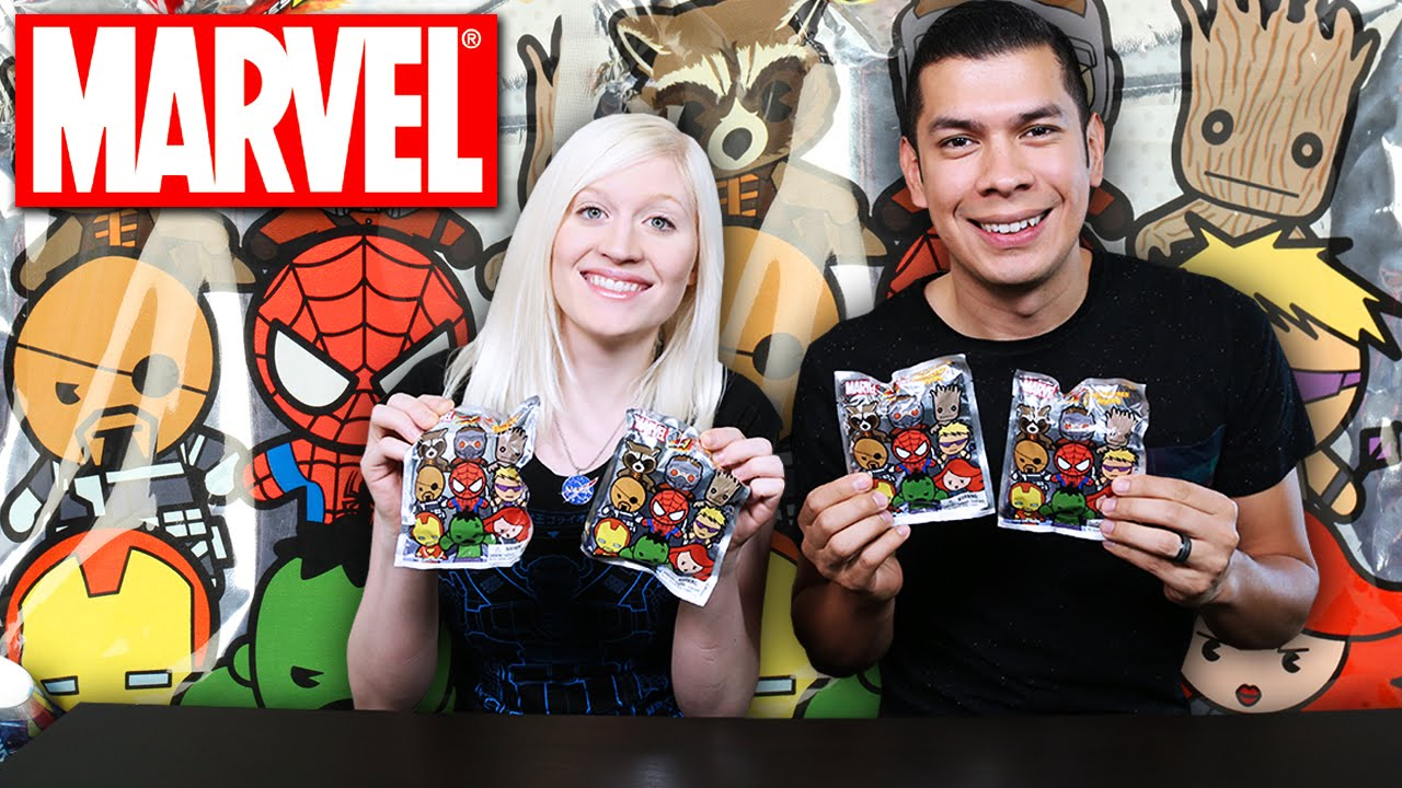 Marvel Series 1 Collectors Keychain Blind Bags