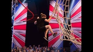 This video content falls under fair use guidelines and content belongs to ITV. Southend Parkour Level 2 Coach Brad Moss' run on Ninja Warrior Season 1 - Maki...
