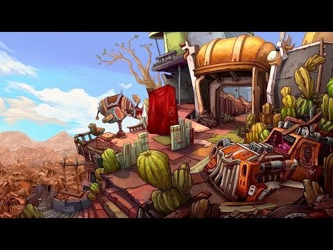 трейлер Deponia - The Complete Journey