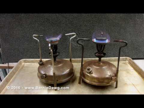 How to Operate a Vintage Kerosene Stove