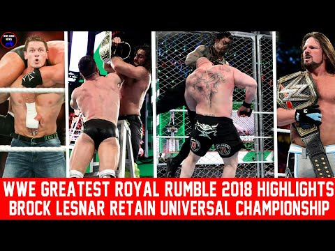 WWE Greatest Royal Rumble 2018 Highlights Result || 50 Men Royal Rumble Match Highlights