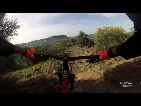 KROSS MOON Z2 foinikaria dh track (видео)