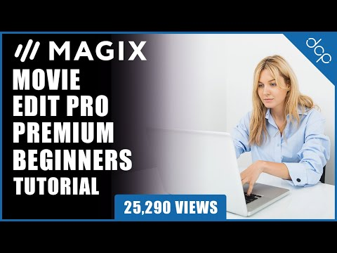 Movie Edit Pro 2019 Beginners Tutorial  - Example 1 - [ Edit video using Movie Edit Pro 2019 ]