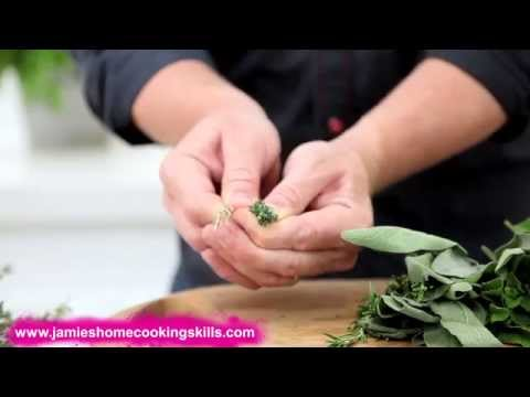 Jamie Oliver Talks You Through Cooking With Herbs