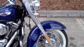4. 2006 FLSTN SOFTAIL DELUXE HARLEY-DAVIDSON FOR SALE IN TAMPA FLORIDA USA