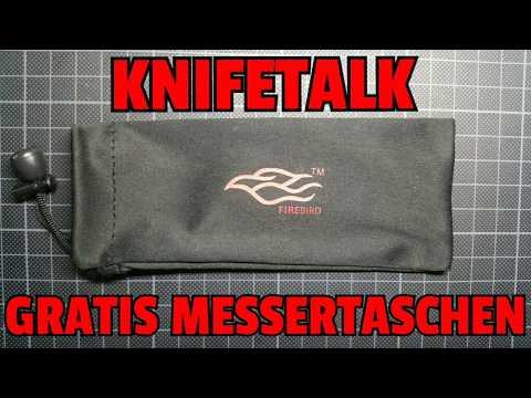✔ KNIFETALK: Gratis Messertaschen und die Undankbarkeit der Sparfüchse....