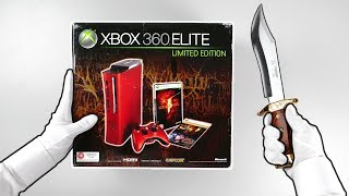 Rare XBOX 360 Elite Console Unboxing! (Resident Evil Limited Edition) Resident Evil 2 Remake