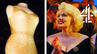 Video World's Most Expensive Dress Ever Sold - Marilyn Monroe's 'Happy Birthday, Mr President' Gown MP3, 3GP, MP4, WEBM, AVI, FLV September 2019