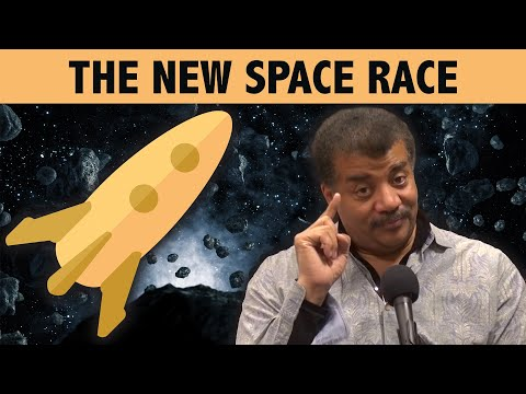 StarTalk Podcast: Cosmic Queries – The New Space Race with Neil deGrasse Tyson