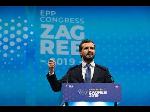 """Casado: """"El PPE es la mejor vacuna contra los populismos"""""""