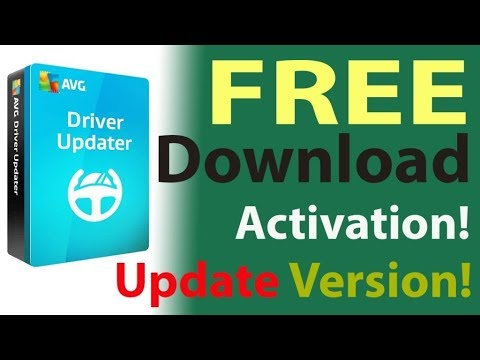 AVG Driver Updater |Full Version-2018 Working 100%| with Crack