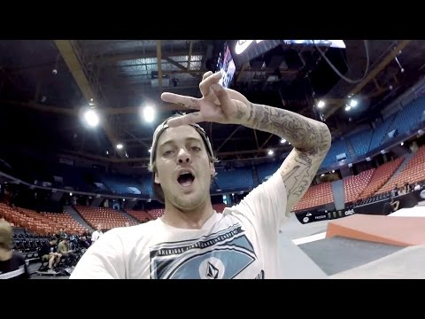 Preview - Ryan Sheckler gives us a view of this one-of-a-kind course at Street League Skateboarding in Chicago, IL. Be sure to check out SLS Los Angeles this Sunday 7/27. http://streetleague.com/home...
