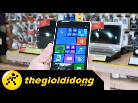 Video về Nokia Lumia 1520
