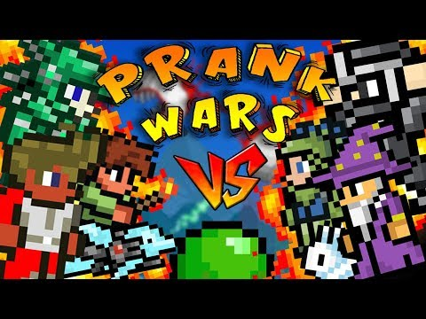 THE GREATEST SERIES EVER! | TERRARIA PRANK WARS / EPISODE 1