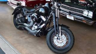 5. 2009 Harley-Davidson Crossbones Softail Motorcycle - 96 CI V-Twin Springer