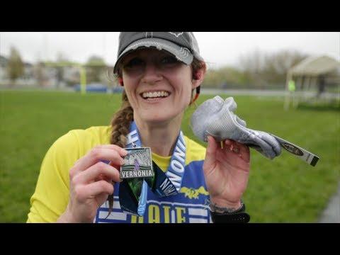 Brandi's half-marathon & Teaching photography at a winery - Vlog 5