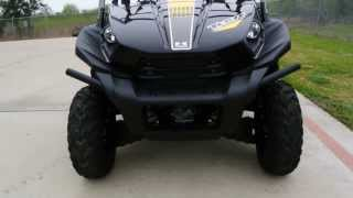 1. Review: 2013 Kawasaki Teryx 750 FI 4X4 in Super Black