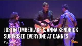 Justin Timberlake and Anna Kendrick TRUE COLORS Video