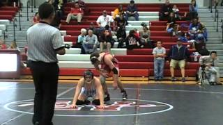 Jake Bartow Odessa vs Uriah Lentz Bolivar 152 lbs