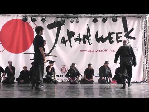 [Japan week] Exhibición de Budo Taijutsu