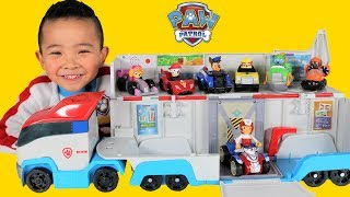 Paw Patrol Patroller Toys Unboxing With Marshall Chase Skye Rocky Rubble Zuma Vehicles Ckn Toys