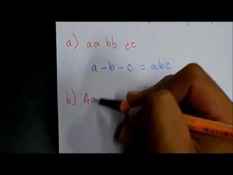 gametos - En este video se describe cómo obtener gametos a partir de diferentes genotipos utilizando el método dicotómico. Música: