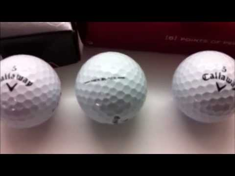 Callaway Hex Black Tour Higher Players Numbers golf balls  Golf Equipment Videos