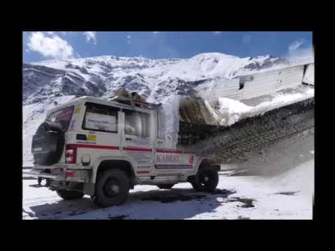 Yokohama Tyres' & Bolero's performance in Winter Spiti