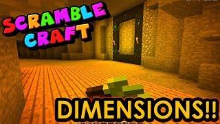 I'M GOING DIMENSION HOPPING!? - Scramble Craft (Minecraft)
