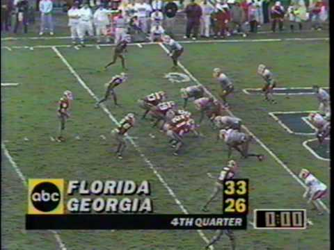timeout - 10/30/1993 - #10 Florida 33, Georgia 26.