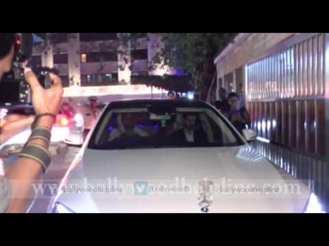 Hrithik Roshan Spotted At Wedding Ceremony