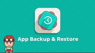 App Backup & Restore Video YouTube