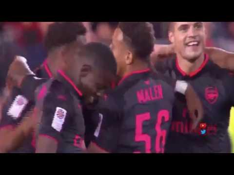 Alexandre Lacazette First Goal for Arsenal   Arsenal vs Sydney FC 2 0 Friendly 13 07 2017