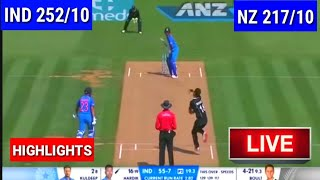 Highlights | India vs New Zealand 5th ODI 2019 : India Beat New Zealand By 35 Runs To Win Series 4-1