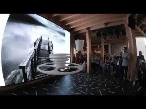Atelier Blumer - USI AAM Master a EXPO 2015 padiglione Svizzero. La Città Volante.