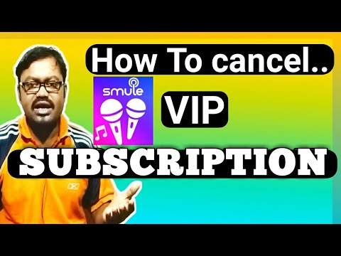 (Hindi)How To Cancel Smule Vip Subscription..2019