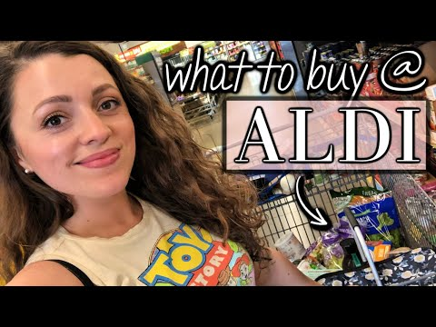 WHAT TO BUY AT ALDI // Summer 2019 Grocery Haul
